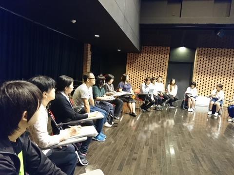 夏の舞台技術ワークショップ 1日目(照明)