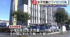 「過去にもやった」小6女児の胸など触った29歳男逮捕 神奈川