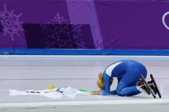 韓国スケート連盟の代わりに土下座したキム・ボルム選手