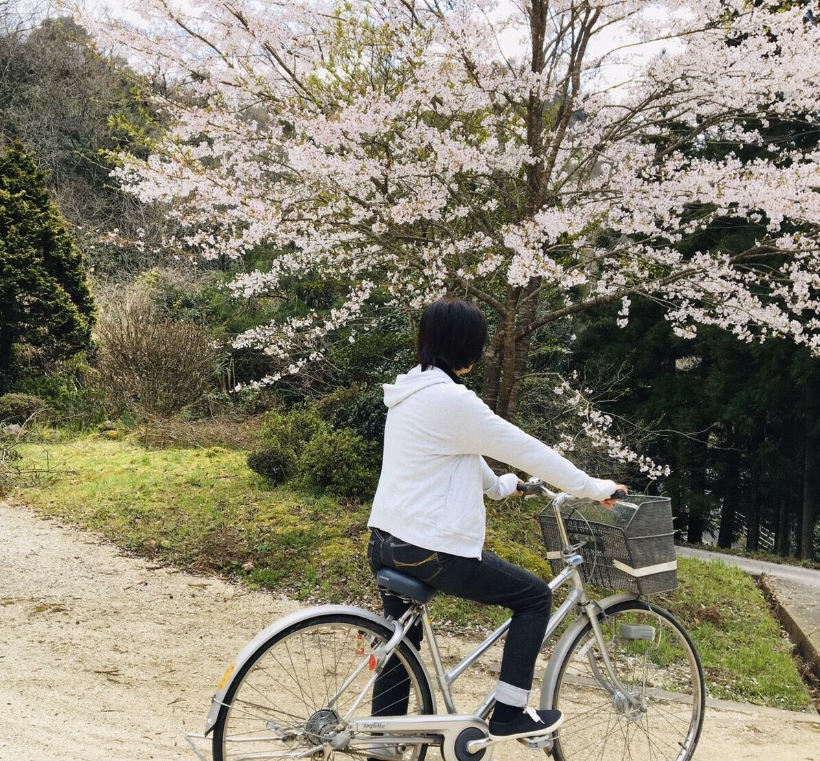 チョット 自転車に乗って