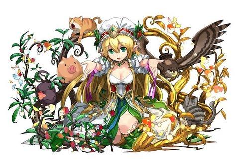 パズドラの可愛いキャラクター画像