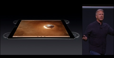 iPad Proのスピーカー