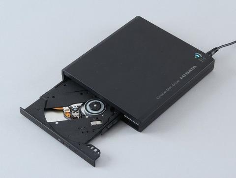 スマホに直接CDに取り込みできるドライブ