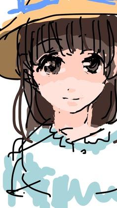 iPhoneで描いたデジ絵