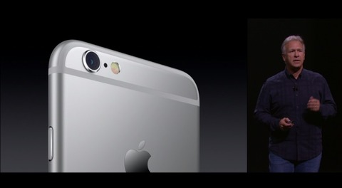 iPhone6sのカメラ画像