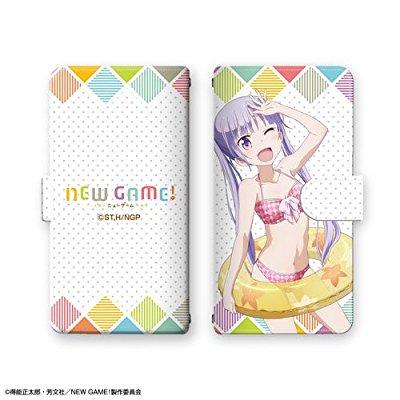 NEW GAME!の手帳型スマホケース