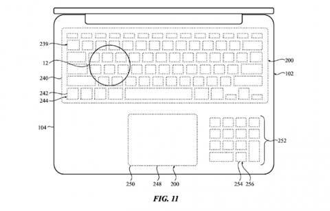 物理キーボードを無くすAppleの特許