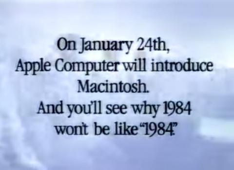 初代MacのCM