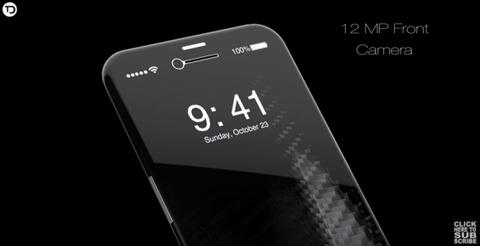 iPhone 8のコンセプト画像