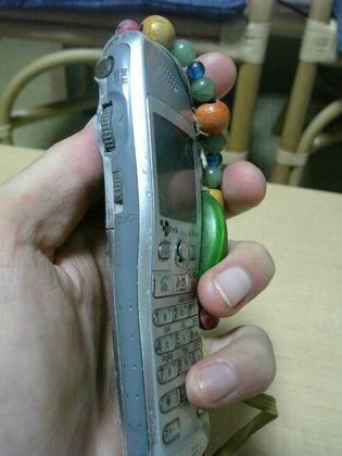 ダイアル付き携帯