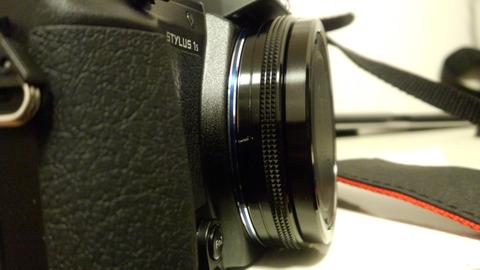 スタイラスのカメラ