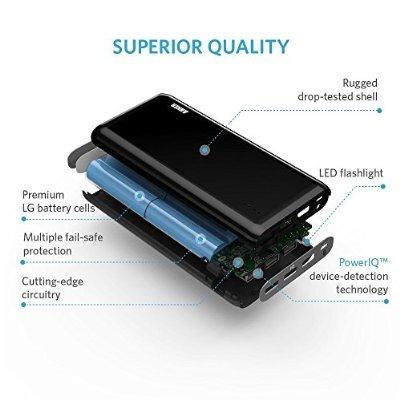 Anker Astro E7 超大容量 25600mAh モバイルバッテリー