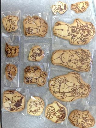 ラブライブ!のクッキー