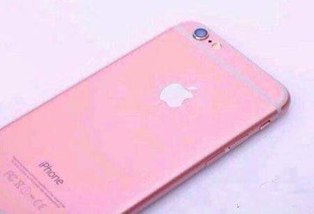 ピンク色のiPhone6