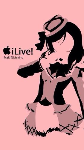 ラブライブ!のiPhone壁紙