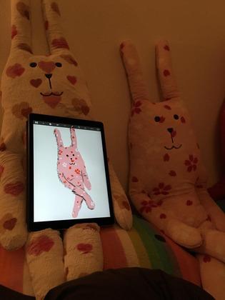 iPad Proで描いた絵