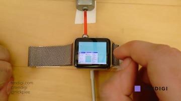 Apple Watchでwindows95を操作しています