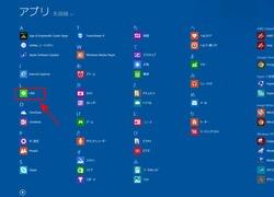 Windows8.1でLINEアプリ起動