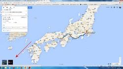 Googleマップのパックマン