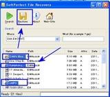 ファイル復元開始