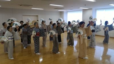講習会「松扇の舞」
