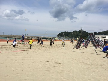 Volley On The Beach♪