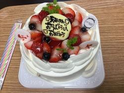 誕生日・・・