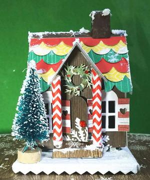 クリスマスハウス完成品