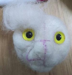 羊毛猫の顔_過程3
