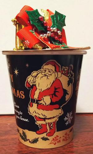 クリスマスお菓子箱