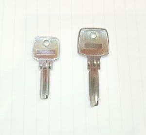 ABUS TITARIUM タイタリウム EC75 合鍵