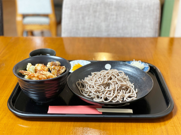 01チビえび天丼セット(1000円)