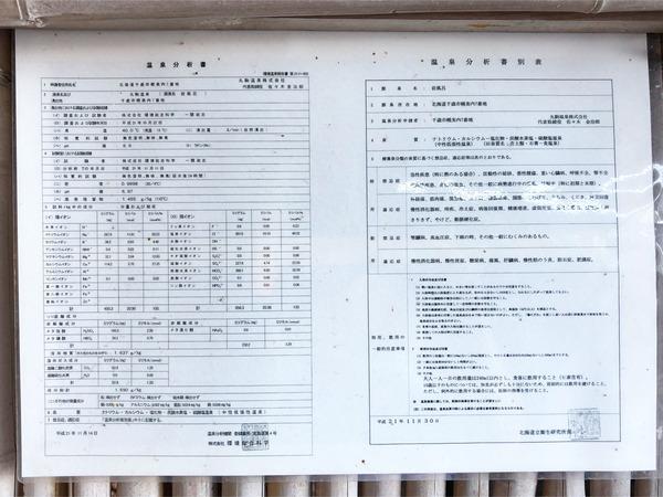 43温泉分析書