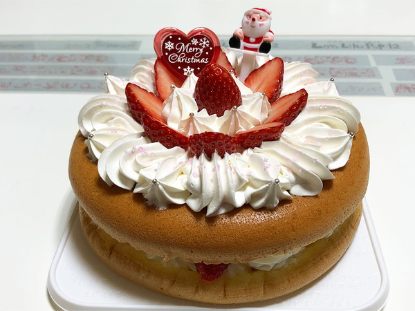 10_GARAGE:オムレツクリスマスケーキ