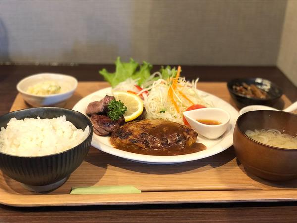 01ハンバーグ&ステーキ(1760円)