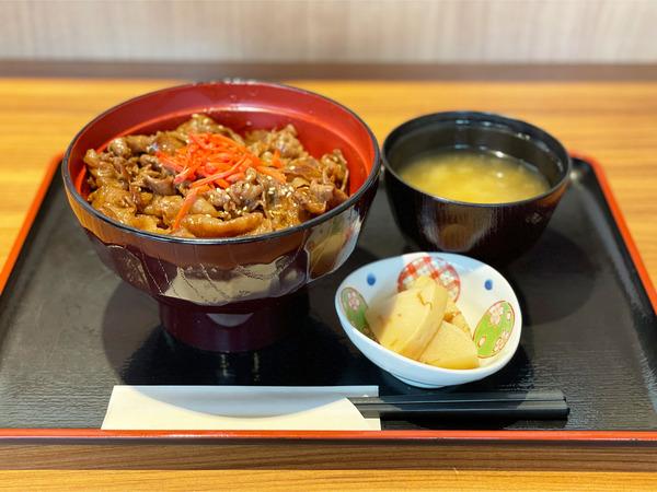 01しほろ牛カルビ丼(980円)