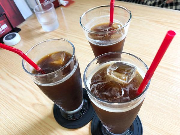 01ICEコーヒー(486円)