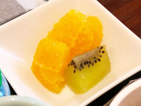 24一口サイズのフルーツ