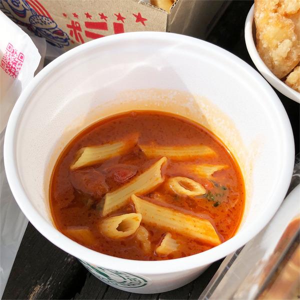 34シュリンプトマトスープ(500円)