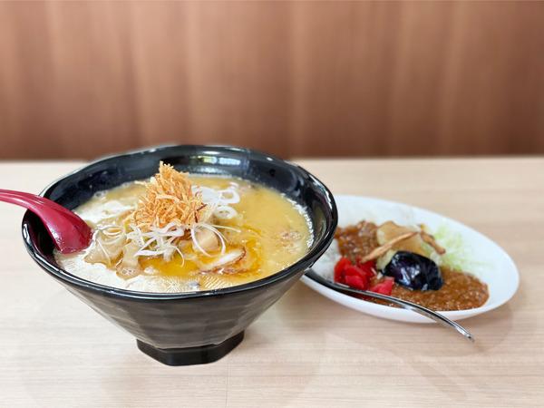 01ラーメン&小カレー