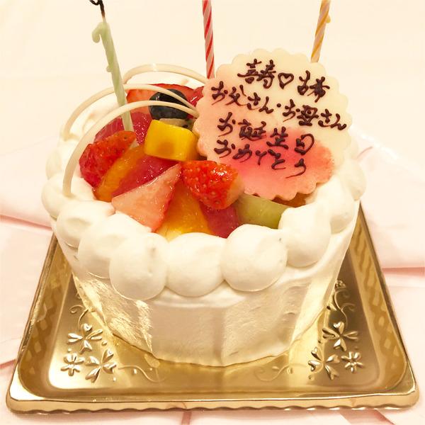 03フルーツたっぷりのケーキ