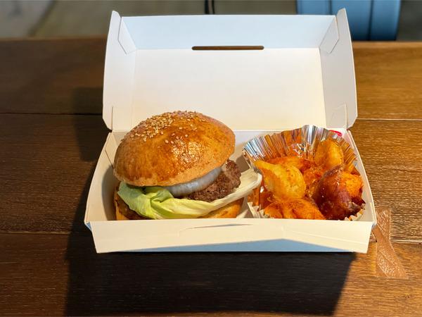 05十勝産牛肉ハンバーガー(1728円)