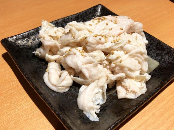 04豚ホルモン(390円)
