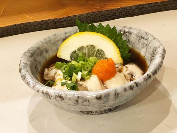 12生かきポン酢(950円)
