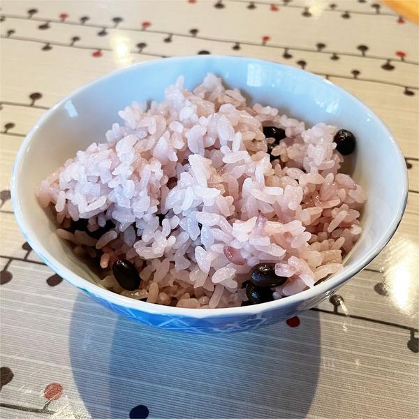 11黒千石大豆ご飯