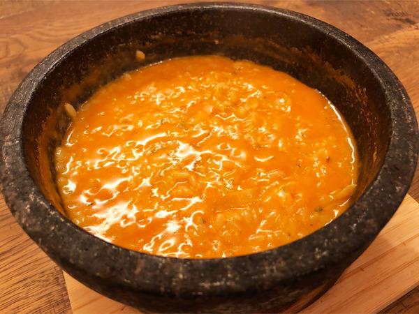 04石焼チーズリゾット(1298円)