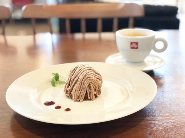 05和栗のモンブラン(495円)コーヒー(440円)