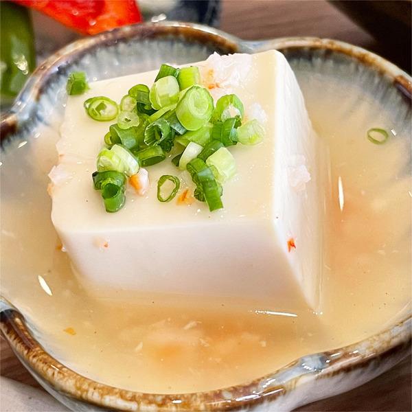 06豆腐とえびのあんかけ