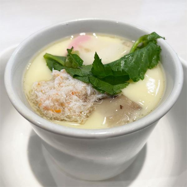 11海鮮茶碗蒸し(198円)