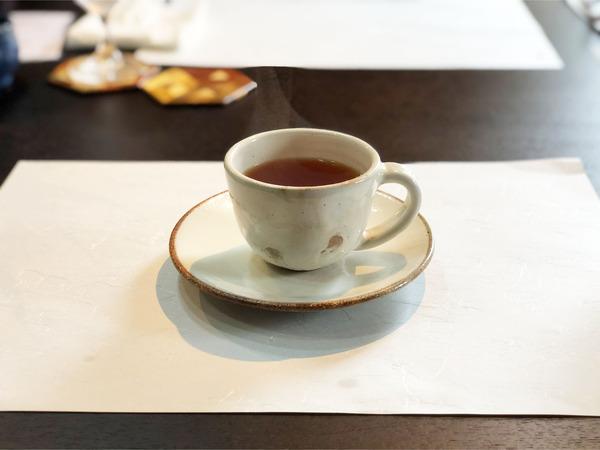 13食後のドリンク(紅茶)